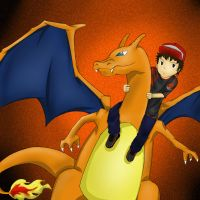 Charizard by bulatmunyi96