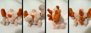Regirock plush by LRK-Creations