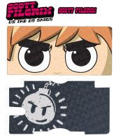 Scott Pilgrim DS Skin Sample by DesignsByCorkyLunn