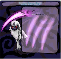 Absol Journal Skin by CleverConflict