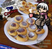 APH: Russian Tea Cookies by ArtieDrawings