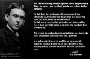 Mencken on religion.. by rationalhub