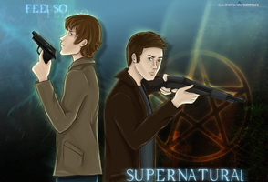 Feel so Supernatural by La-Fata-di-Sophix