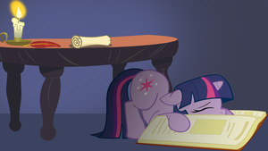 Sleepy Twilight - Wallpaper by GuruGrendo