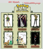 UBF: Alternate Trainer Outfits by SteelFeathers