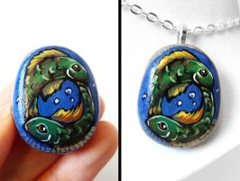Pisces Pendant Necklace by sobeyondthis