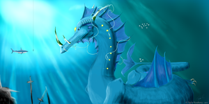The King of the Sea by Kivusa