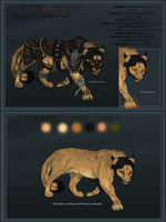Azhar/Nord Drover Reference Sheet by X-TIGRA