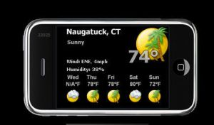 iphone Weather by ssgoku-23