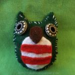 Christmas Owl by Terwyn