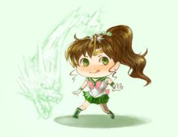chibi Sailor Jupiter by f-wd