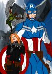 Captain America~The Winter Soldier by Comicbookguy54321