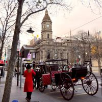 Carriage in Melbourne City by autism-fre5h