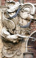 Mermaid Architectural facade by Pabloramosart