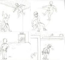 TBOS Audition Rough Sketch 2 by BagnaTheSupervillain