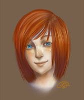 Portrait Practice 01 by MadameNyx