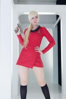 TOS Star Trek - Red Shirt by busanpanda