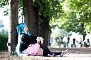 Hatsune Miku - Rolling Girl by Andy-K