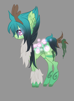 :Remu pony: Forest (NEW SPECIES) by AzrealRou