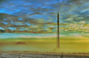 Winter Tower by waclawq