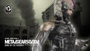 Metal Gear Solid 4 Raiden by cloudff7ac