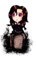 Chibi Scarlet Shadows Comission by MarianVLG