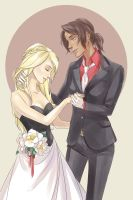 Suit Up: Christa and Ymir by dorodraws
