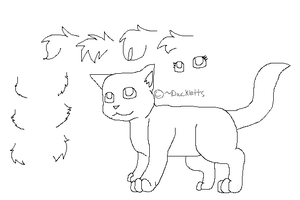 Create a Cat Lineart by DucklettsRcute