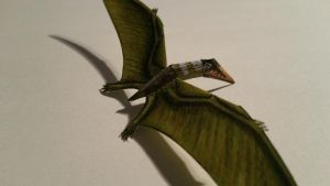 cearadactylus paper model by spinosaurus1