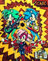Sonic Underground  by peachy15