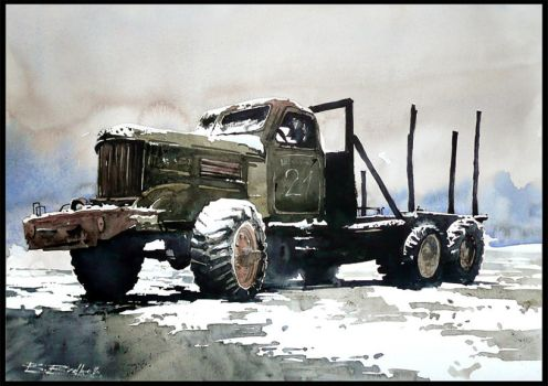 Old Truck by Kegriz