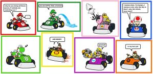 Mario kart: partners in time by minimariodrawer
