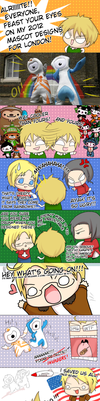 APH: English Mascots 2010 by CenaFenrier
