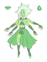 Gem Fusion: Emerald by Porkapine