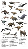 2013 in Paleontology by NTamura