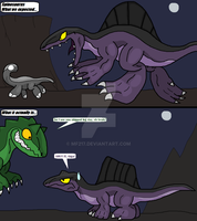 Spinosaurus, Before and After by Chronicle-King