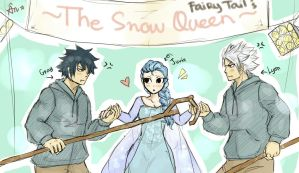 The Snow Queen and the Ice Princes by blanania