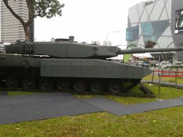 Leopard 2A4/2SG Tank near J-Cube Shopping Mall by SoFDMC