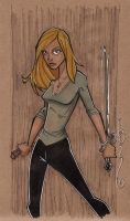 Brown Bag: Buffy by Hodges-Art
