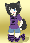 Flats Sample: Puppy Boy by padfootlet