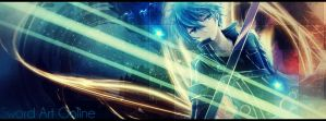 Sword Art Online Kirito Signature by CloudEdgeZ
