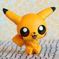 Pikachu Littlest Pet Shop custom by pia-chu