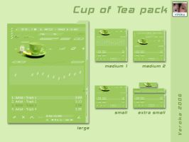 Cup of tea pack by Veroka
