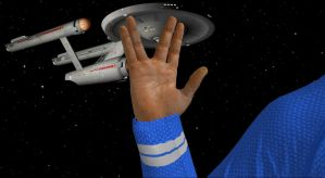 Leonard Nimoy 1931-2015 by enterprisedavid