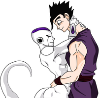 Female Frieza x Gohan by ZoobaTizza872