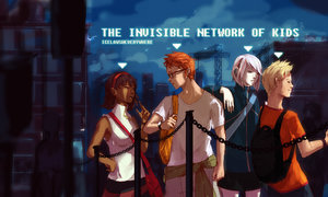 The Invisible Network of Kids by IceLaws
