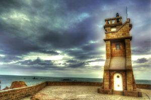 Phare du Paon by kakobrutus