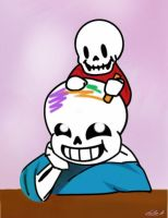 Home Grown: Skeletons and Crayons by PurpleCarnation76