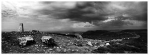 Black and White Panoramic by Reckla