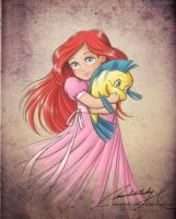 Child Ariel by MoonchildinTheSky